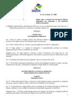 Vs Lei Mun 1126-00 Estatuto Dos Servidores Municipais