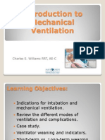 Introduction to Mechanical Ventilation
