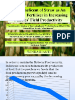The Beneficent of Straw as an Organic Fertilizer 2