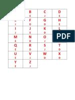 Teste Do Alfabeto