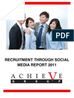 Recruitment Through Social Media Report 2011