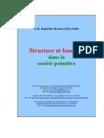 Radcliffe-Brown, A R -  Structure Fonction dans les societes primitive.pdf