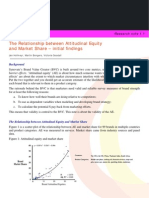 Research Notes 1 1 Attitudinal Equity and Market Share