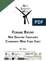 Forums Report