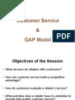Customer Service & GAP Model