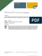 SAP BW Change Request Management