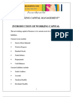 Copy of Working Capital Management