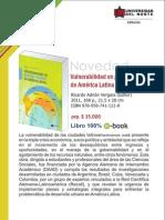 Vulnerabilidad en grandes ciudades de Latinoamérica