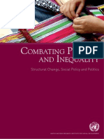 Combating Poverty and Inequality