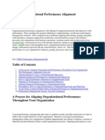 What is Organizational Performance Alignment