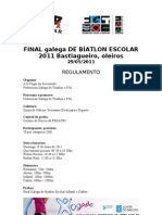 Final Galega BiatlonEscolar2011