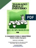 O chamado para o ministério - C. H. Spurgeon