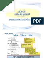 How to Read Datasheet