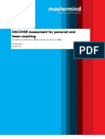 DISCOVER Assessment for Personal and Team Coaching [EN]
