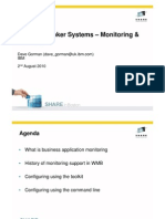 Share Boston - WebSphere Message Broker Systems - Monitoring and Auditing