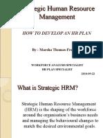 HRM -- Strategic Human Resource Management[1]