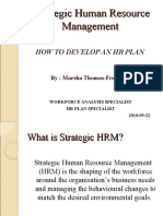 HRM -- Strategic Human Resource Management[1]