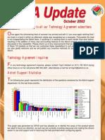 TA UPDATE Adroit October 2003
