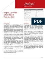 Bogota Office Rent Report Q4 2010