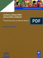 Cultura y Desarrollo Pnud-Unesco