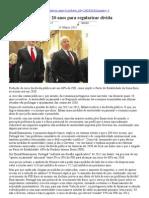 DN 11-3-11 - Portugal vai demorar 20 anos para regularizar dívida