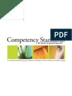 3-Standar Competency of Nurse