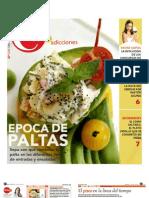 Diseño Suplemento de Gastronomia (Diario 24.7)
