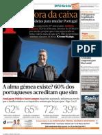 Sondagem A família, mais do que a carreira, é central na vida dos portugueses (Publico 5 Março 2011)