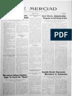 The Merciad, February 1934