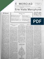 The Merciad, December 1934