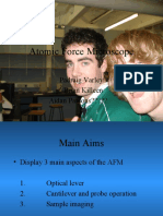 Atomic Force Microscope Power Point