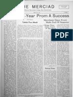 The Merciad, February 1935