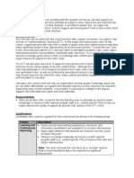 DTT Cohort Application