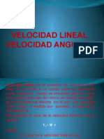 Velocidad Lineal