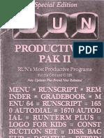 Re-Run Productivity Pak II