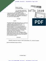 Trump Soho - Complaint pt 1, August 2010