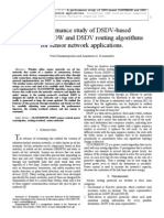 A Performance Study of DSDV-Based CLUSTERPOW and DSDV Routing Algorithms for Sensor Network Applications