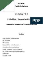 7 & 8. IMC & PR Publics