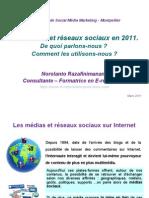 Medias&ResauxSociauxen2011v2