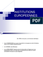 06 Institutions Europennes