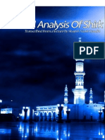 A Critical Analysis of Shirk