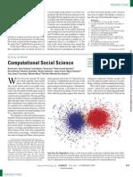 Lazer 2009 SOCIAL SCIENCE Computational Social Science