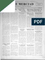 The Merciad, October 1938