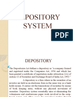 Depository System Ppt (1)
