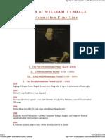 William Tyndale Reformatio