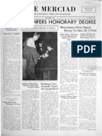 The Merciad, November 1939