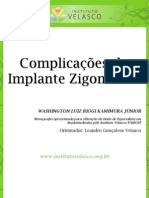 Complicações do Implante Zigomático
