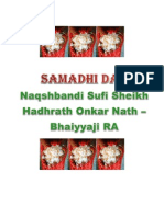 Samadhi Day Naqshbandi Sufi Onkar Nath - Bhaiyyaji Ra