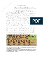 4-Roman Battle Tactics