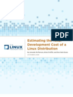 Estimating Linux